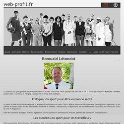 Romuald Létondot et le sport