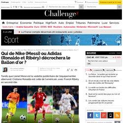 Qui de Nike (Messi) ou Adidas (Ronaldo et Ribéry) décrochera le Ballon d'or ? - 13 janvier 2014