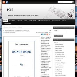 Ronce-Rose (Librairie Ptyx)