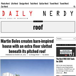 roof – Daily Nerdy