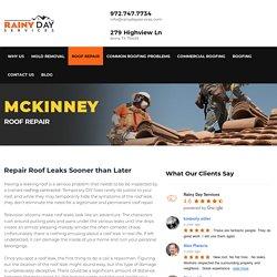 Roof Repair Company Mckinney