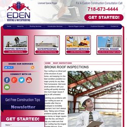 Expert Roofers In Bronx, NY
