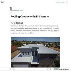 Roofing Contractor in Brisbane —