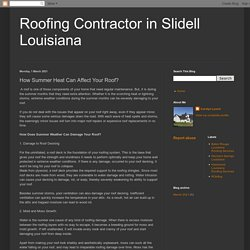 Roofing Contractor in Slidell Louisiana