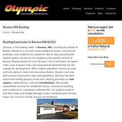 Roofing Contractor Revere, MA