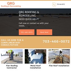 QRG Roofing, Flat Roofing Contractor Near Boerne TX