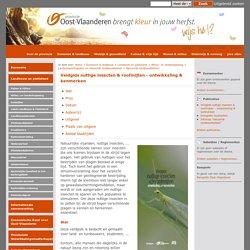 Veldgids nuttige insecten & roofmijten. Ontwikkeling & kenmerken.