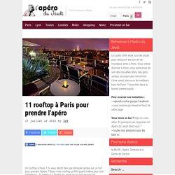 11 rooftop à Paris pour prendre l'apéro