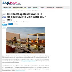 Top Rooftop Restaurants in Jaipur to enjoy with Your Friends