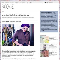 Amazing Technicolor Hair Dyeing