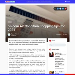 5 Room Air Condition Shopping tips for 2021