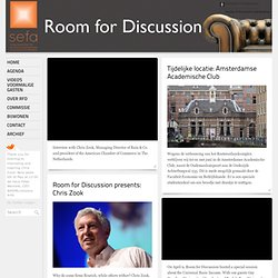 Room4Discussion -Mario Draghi- University of Amsterdam