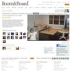 Room for Improvement - James Kish - Home Tours - Ideas & Advice - Room & Board