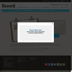 Bassett Furniture » Tools