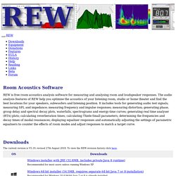 Room EQ Wizard - REW Home Page