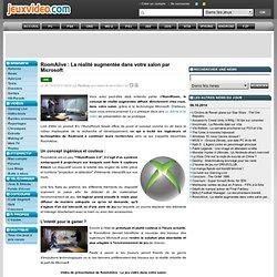 RoomAlive : La réalité augmentée dans votre salon par Microsoft - Actualités - 06/10/2014