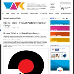 Rooster Walk - Festival Posters by Selman Design