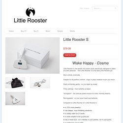 Little Rooster Store — The alarm clock that makes mornings AWESOME!