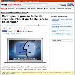 Rootpipe, la grosse faille de sécurité d'OS X qu'Apple refuse de corriger
