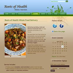Roots of Health: Cooking