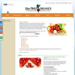 New Roots Organics - Organic Recipes