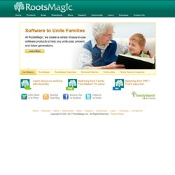 RootsMagic - Software to Unite Families
