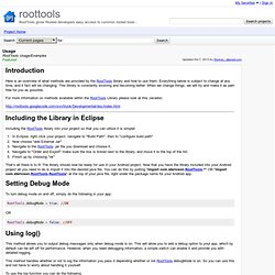 Usage - roottools - RootTools Usage/Examples - RootTools gives Rooted developers easy access to common rooted tools...