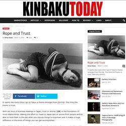 Rope and Trust - Kinbaku Today