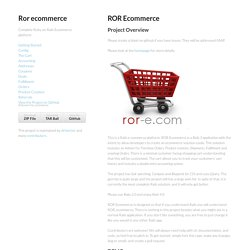 Ror ecommerce by drhenner