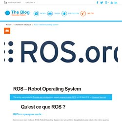 ROS - Robot Operating System