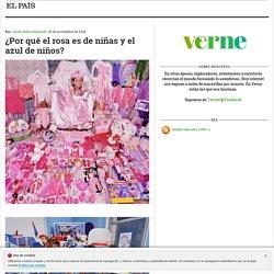 ¿Por qué el rosa es de niñas y el azul de niños? >> Verne >> EL PAÍS