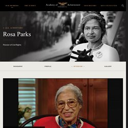 Rosa Parks - Academy of Achievement