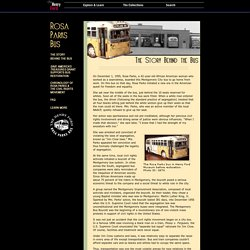 Rosa Parks Bus - The Story Behind the Bus