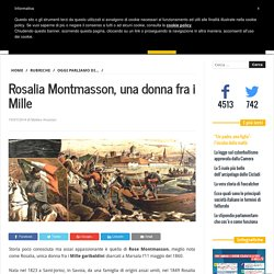 Rosalia Montmasson, una donna fra i Mille