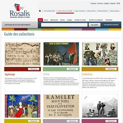 Rosalis - Guide des collections