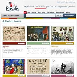Rosalis - Guide des collections