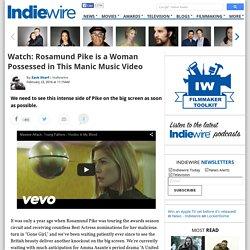 Rosamund Pike Stars in Massive Attack Music Video