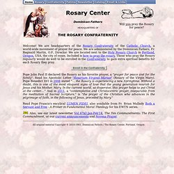 Rosary Center - Rosary Confraternity