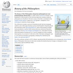 Rosary of the Philosophers - Wikipedia