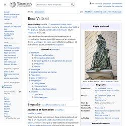 Rose Valland
