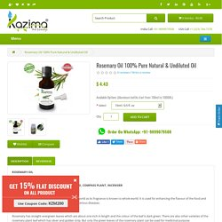 Buy Rosemary Essential Oil online India - cheap Rosemary Oil online India