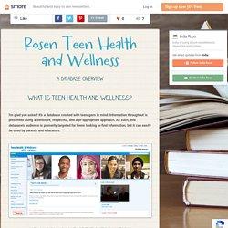 Rosen Teen Health and Wellness (India)