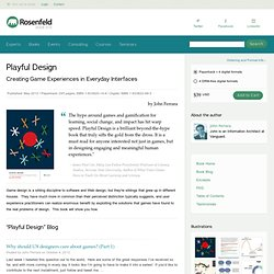 Playful Design Book Site
