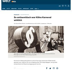 Film vom Kölner Rosenmontagszug 1936 aufgetaucht - WELT