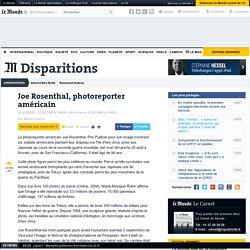 Joe Rosenthal, photoreporter américain