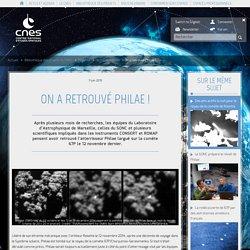 On a retrouvé Philae !