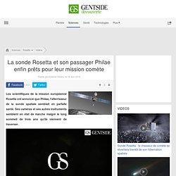La sonde Rosetta et son passager Philae enfin prêts pour leur mission comète