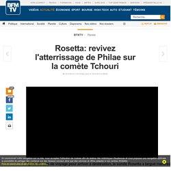 EN DIRECT - Mission Rosetta: suivez l'atterrissage du robot Philae sur la comète Tchouri