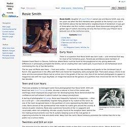 Rosie Smith - Nudist History