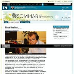Hans Rosling 26 december 2013 kl 13:01 - Sommar & Vinter i P1